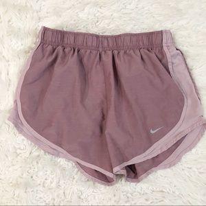 Nike Dri Fit Mauve Running Shorts